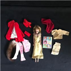 BARBIE DOLL w/ CLOTHING & ACCESSORIES