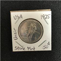 1925 USA STONE MOUNTAIN HALF DOLLAR