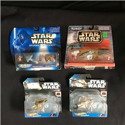 STAR WARS TOY VEHICLES LOT