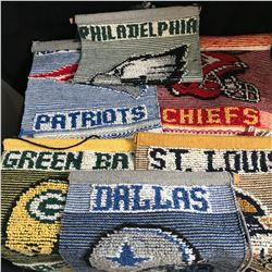 LARGE NFL BANNERS LOT