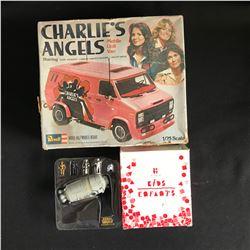 VINTAGE CHARLIES ANGELS MODEL KIT LOT