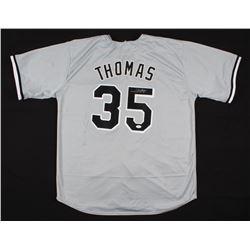 Frank Thomas Signed White Sox Jersey (JSA COA)