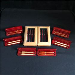 HIGH GRADE PENS LOTS WITH DISPLAY CASES