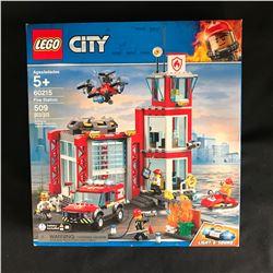LEGO City Fire Station 60215 Building Set