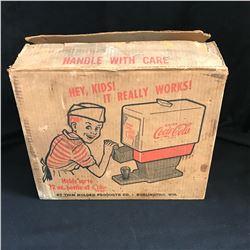 1950s TOY COKE DISPENSER w/ ORIGINAL BOX