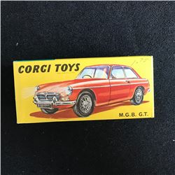 Corgi Toys Vintage Model Car 327 - MGB GT - Red