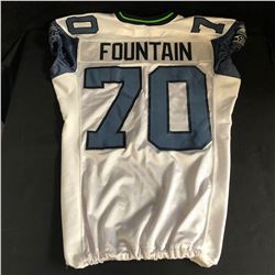 MAURICE FOUNTAIN SEATTLE SEAHAWKS JERSEY (SIZE SMALL)