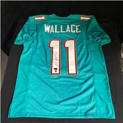 MIKE WALLACE SIGNED DOLPHINS JERSEY (PALM BEACH AUTOGRAPHS)