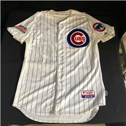 JUSTIN RUGGIANO GAME USED CUBS JERSEY