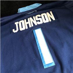 BRENT JOHNSON 2011 WINTER CLASSIC PENGUINS JERSEY (SIZE 52)