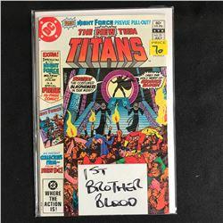 THE NEW TEEN TITANS #21 (DC COMICS)