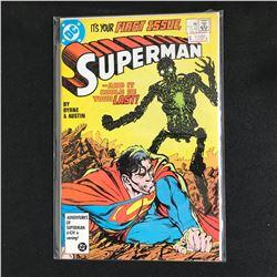 SUPERMAN #1 (DC COMICS) By Byrne & Austin
