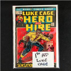 LUKE CAGE, HERO FOR HIRE #1 (MARVEL COMICS)