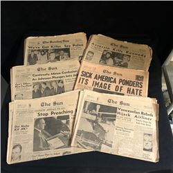 1960s THE SUN NEWSPAPER LOT (VANCOUVER BC)