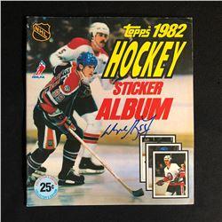 1982 TOPPS HOCKEY STICKER ALBUM