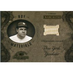 Babe Ruth 2003 Timeless Treasures Authentic Game-Used Bat Card