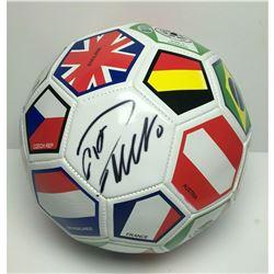 CHRISTIANO RONALDO SIGNED WORLD CUP SOCCER BALL FANATICS COA