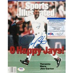 JOE CARTER SIGNED SPORTS ILLUSTRATED COVER