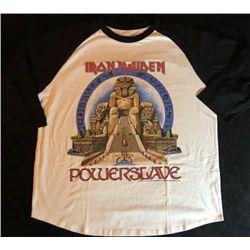 "1984-85 IRON MAIDEN ""WORLD SLAVERY TOUR"" T-SHIRT"
