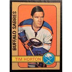 1972-73 O-Pee-Chee Hockey #197 Tim Horton