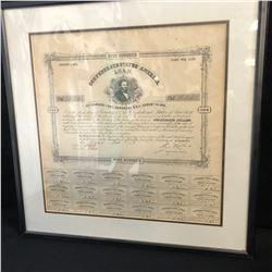 USA - Confederate States of America - 8% Loan (1875) $500