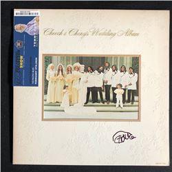 "TOMMY CHONG SIGNED ""CHEECH & CHONGS WEDDING ALBUM"" LP"
