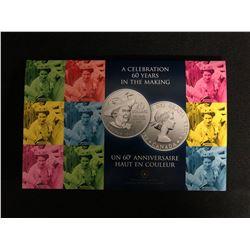 2012 (1952-) Canadian $20 for $20 Queen's Diamond Jubilee Fine Silver Commemorative Coin