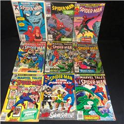 MIXED SPIDER-MAN COMIC BOOK LOT