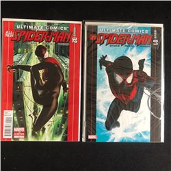 ULTIMATE COMICS SPIDER-MAN ISSUE 1 and 2 (MARVEL)