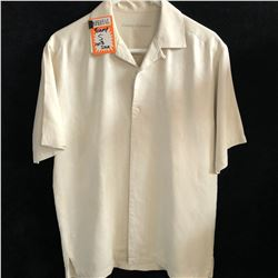 ORIGINAL FIT TOMMY BAHAMA SILK SHIRT (SMALL)