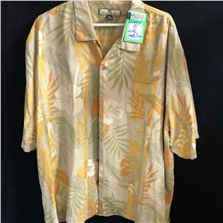 ORIGINAL FIT TOMMY BAHAMA SILK SHIRT (2 XL)
