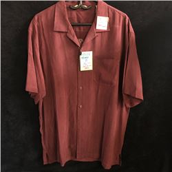 ORIGINAL FIT TOMMY BAHAMA SILK SHIRT (XL)