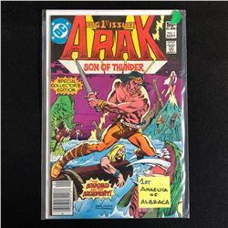 ARAK Son of Thunder #1 (DC COMICS)