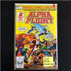 ALPHA FLIGHT #1 (MARVEL COMICS)