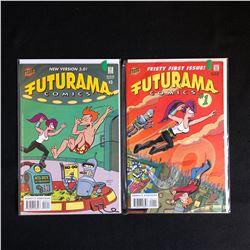 FUTURAMA COMIC BOOK LOT (BONGO COMICS)