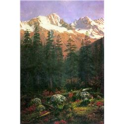 Canadian Rockies by Albert Bierstadt