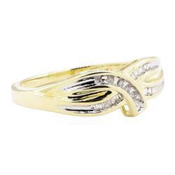 0.25 ctw Diamond Ring - 10KT Yellow Gold