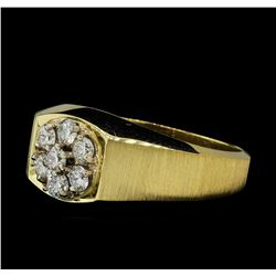 0.56 ctw Diamond Ring - 14KT Yellow Gold