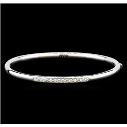 14KT White Gold 0.39 ctw Diamond Bracelet