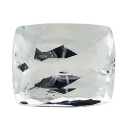 7.46 ct.Natural Rectangle Cushion Cut Aquamarine