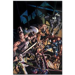"Marvel Comics ""Dark Avengers #10"" Numbered Limited Edition Giclee on Canvas by Mike Deodato Jr. with"