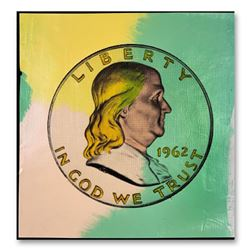 "Steve Kaufman (1960-2010), ""1962 Liberty Ben"" Hand Signed and Numbered Limited Edition Hand Pulled s"