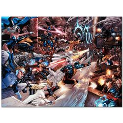 "Marvel Comics ""X-Men vs. Agents of Atlas #2"" Numbered Limited Edition Giclee on Canvas by Carlo Pagu"