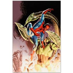 "Marvel Comics ""Heroes For Hire #8"" Numbered Limited Edition Giclee on Canvas by Doug Braithwaite wit"