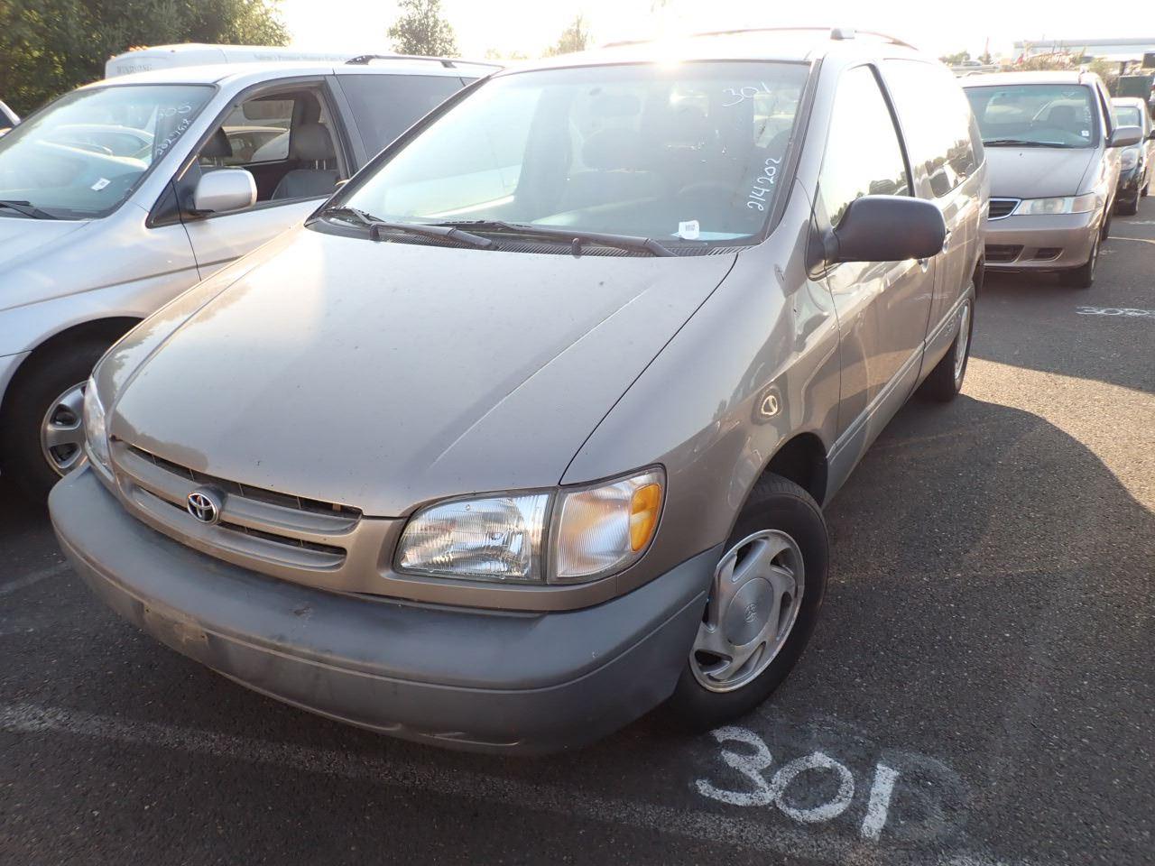 1998 toyota sienna speeds auto auctions speeds auto auctions