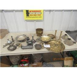 Vintage Silverware, & Brassware