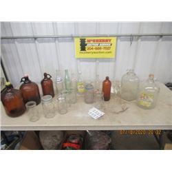 Pop Bottles, Sealers, Javex Jars, Plus More Vintage