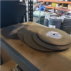 9 CHOP SAW DISCS FOR STEEL