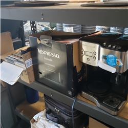 2 COFFEE MAKERS, STOOLS, CDS