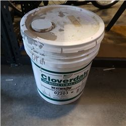 LARGE PAIL OF OUTDOOR PAINT